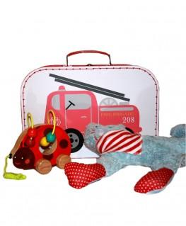 Sass & Belle Koffer Feuerwehr Geschenkset