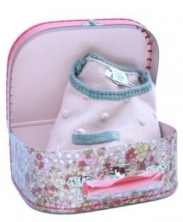 Baby Geschenk Strampler Strick Hust & Claire