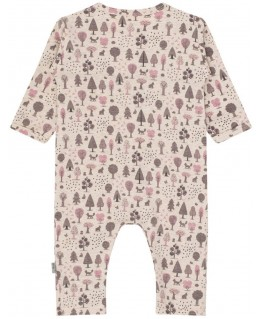 Hust & Claire Dusty Rose Overall